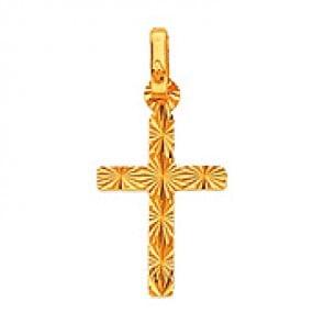 Pendentif Croix 2 Diamantages