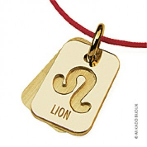 Pendentif SIGNS Lion (Or Jaune)