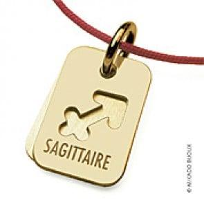 Pendentif SIGNS Sagittaire (Or Jaune)