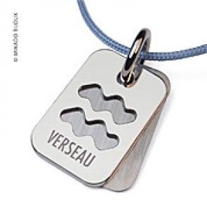 Pendentif SIGNS Verseau (Or Blanc)