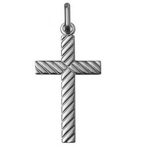 Croix lapidée (Argent)