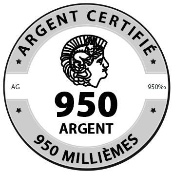 Argent 950/1000